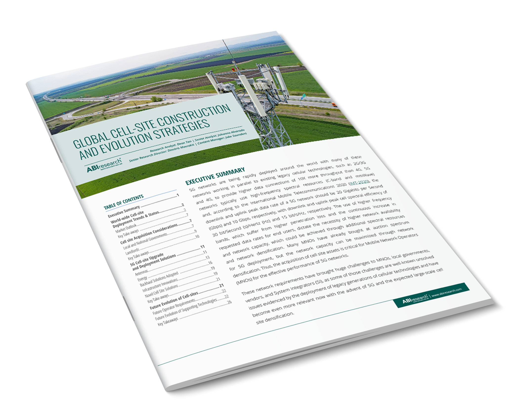 Global Cell-Site Construction And Evolution Strategies